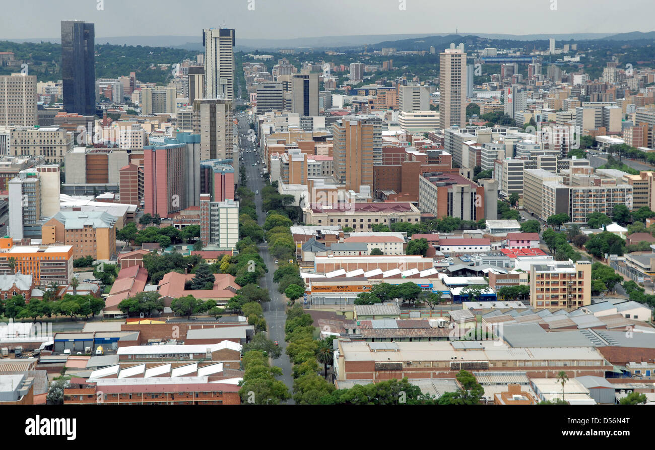 City View Of Pretoria Capital Of South Africa February - What is the capital of south africa