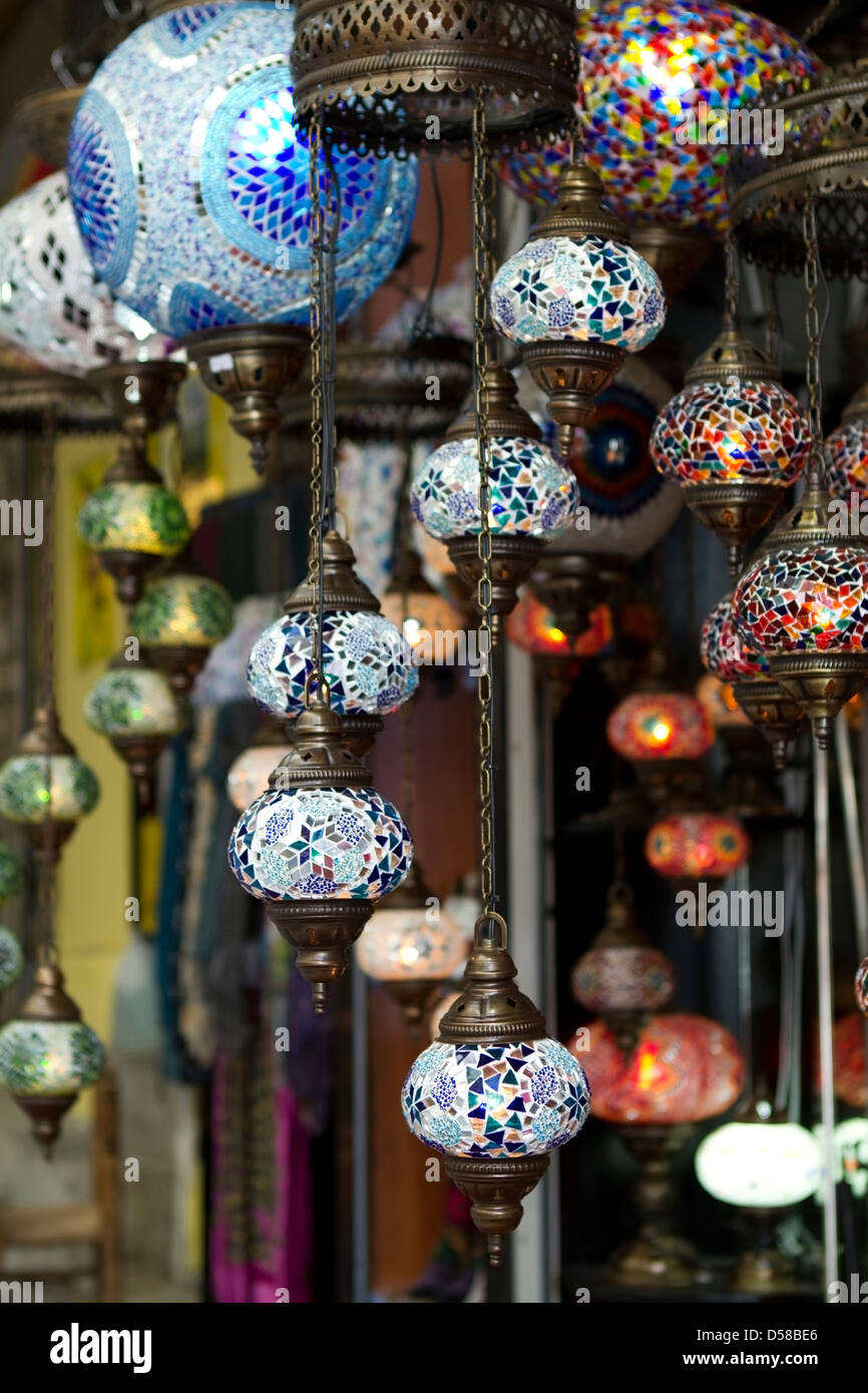 Turkish lamps chandelier for sale at the grand bazaar in istanbul turkish lamps chandelier for sale at the grand bazaar in istanbul turkey aloadofball Choice Image