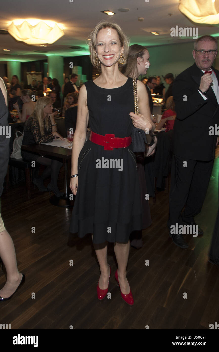 Stock photo hamburg germany riverside new - Mareike Carriere At New Year Reception Ahoi 2012 At Empire Riverside Hotel Hamburg Germany 14 01 2012