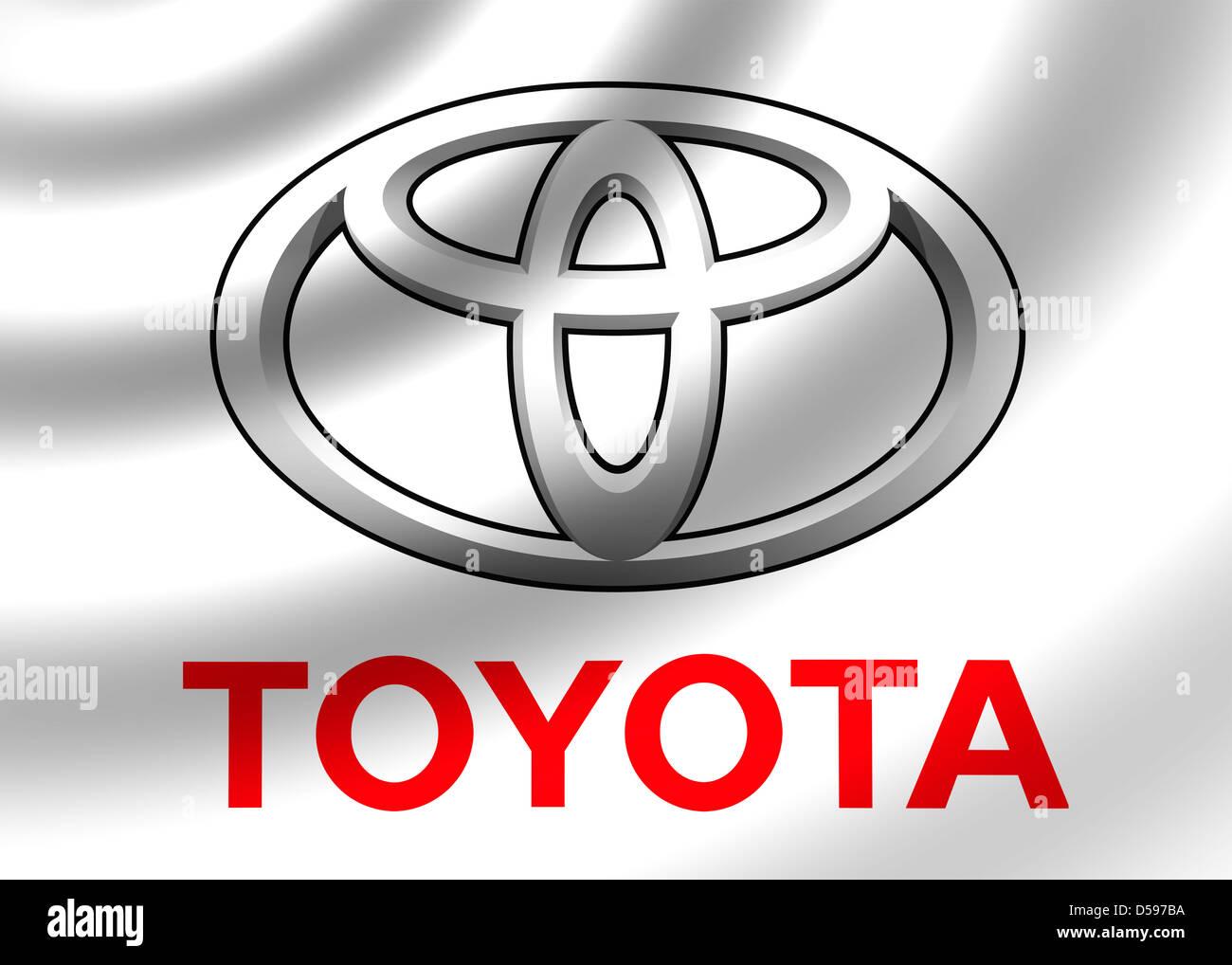 Toyota logo symbol icon flag stock photo 54907758 alamy toyota logo symbol icon flag buycottarizona Gallery