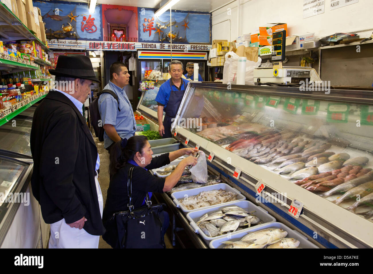 fish market chinatown downtown los angeles california