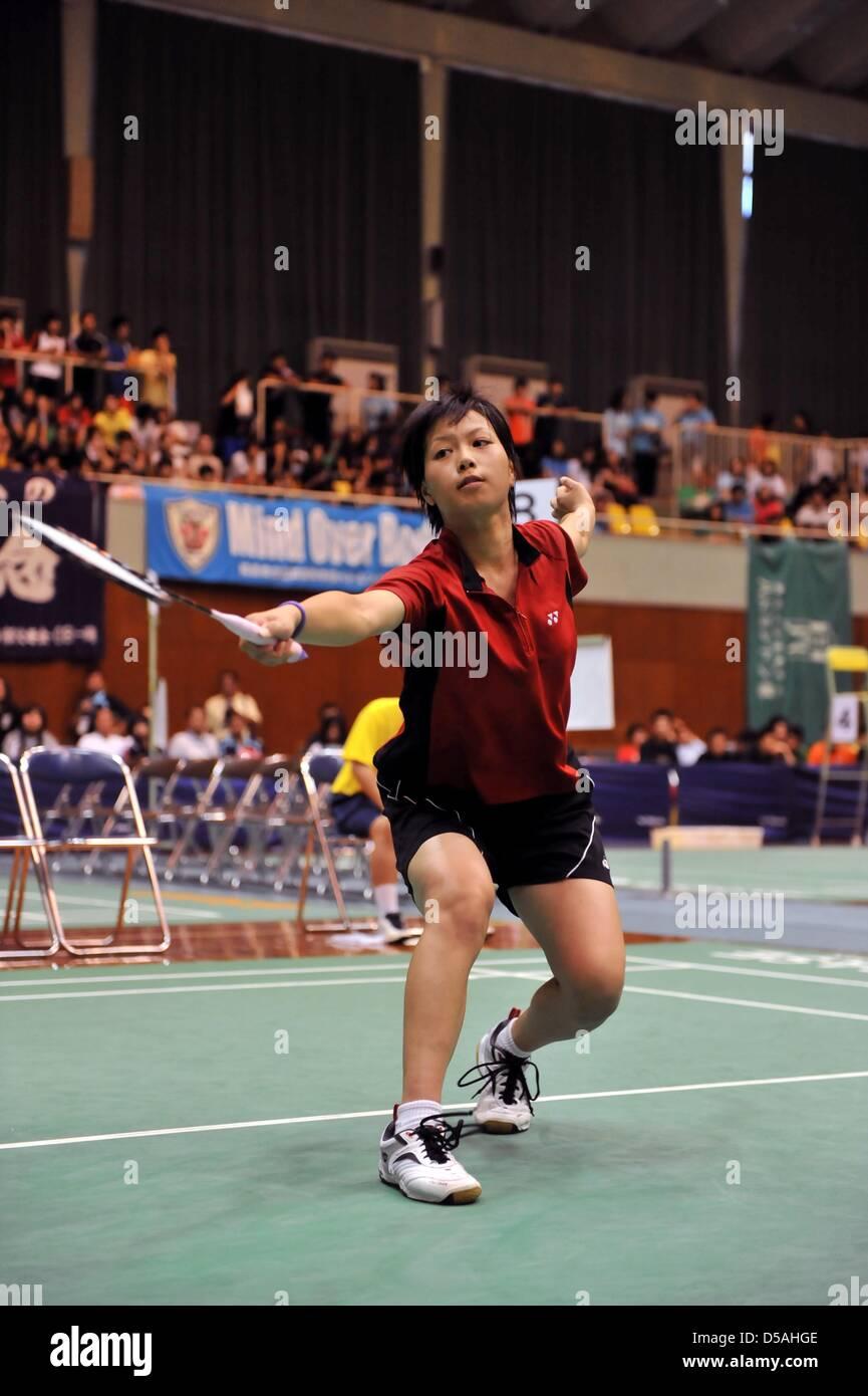 Yuki Fukushima Aomori Yamada JULY 30 2010 Badminton 2010