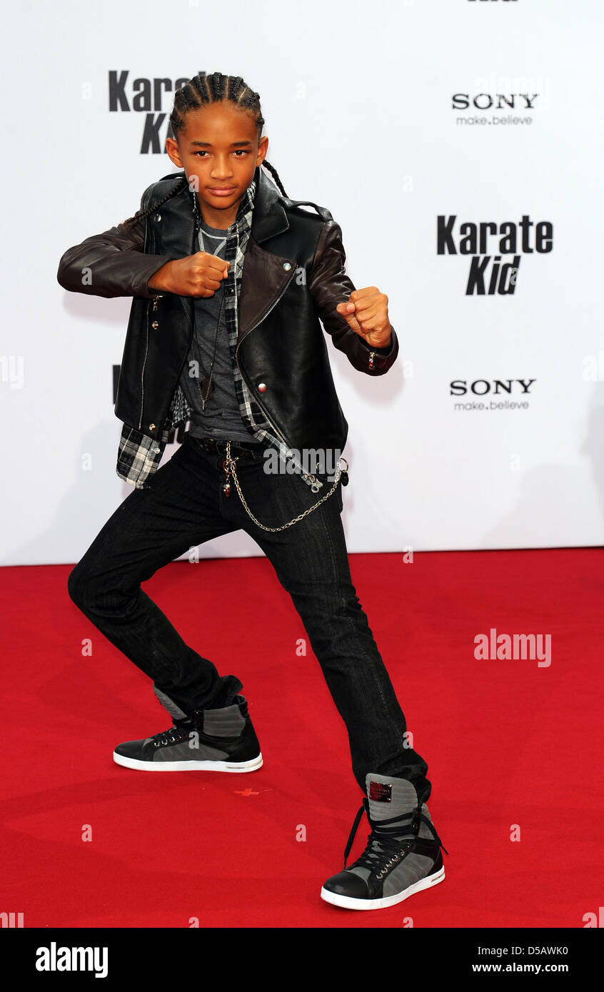 Actor Jaden Smith Poses On The Red Carpet At The Premiere Of ...