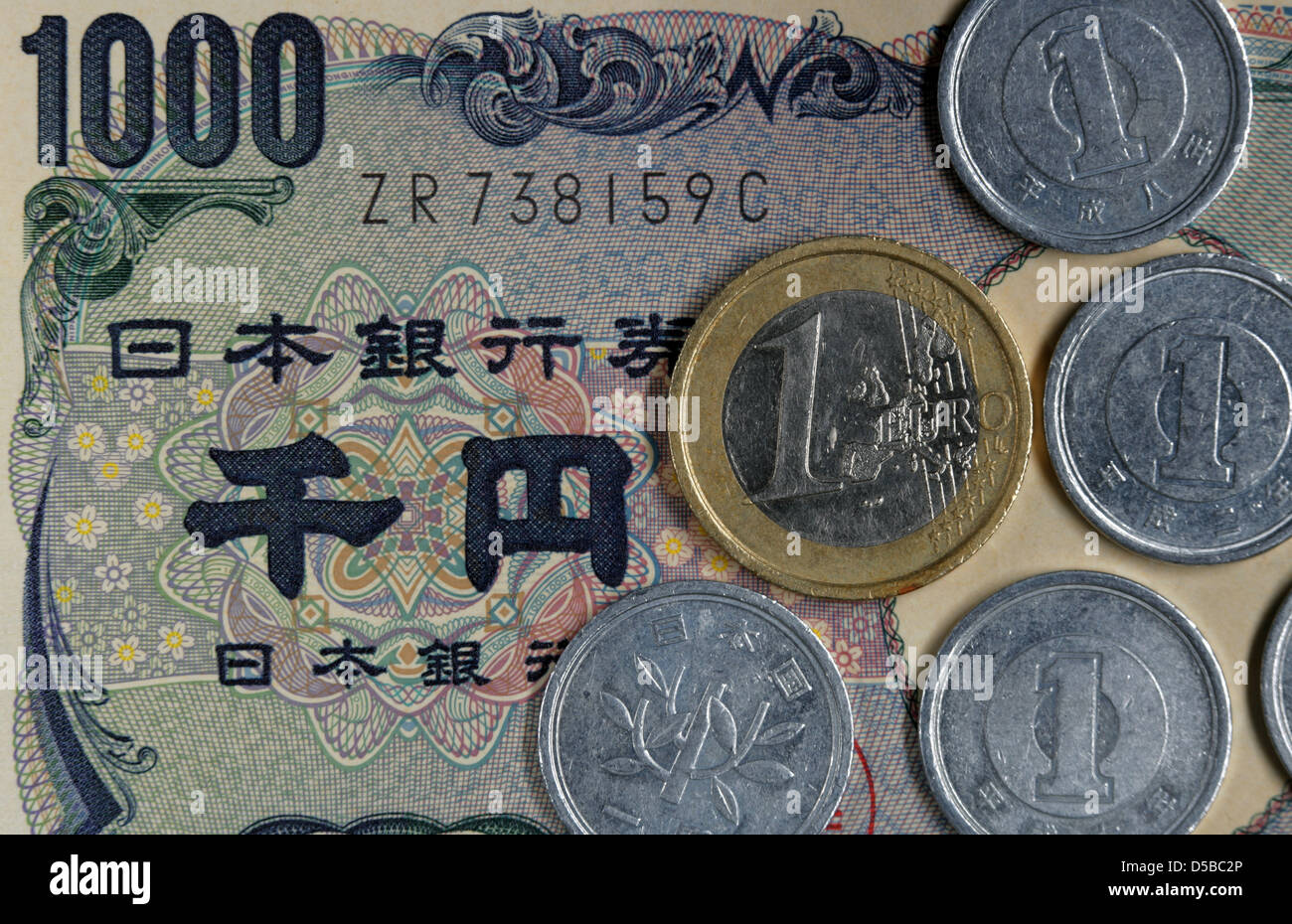 worksheet Yen Coins japanese yen coins are featured on a 1000 bill and next to euro coin in schwerin germany 24 august 2010 the nikkei index