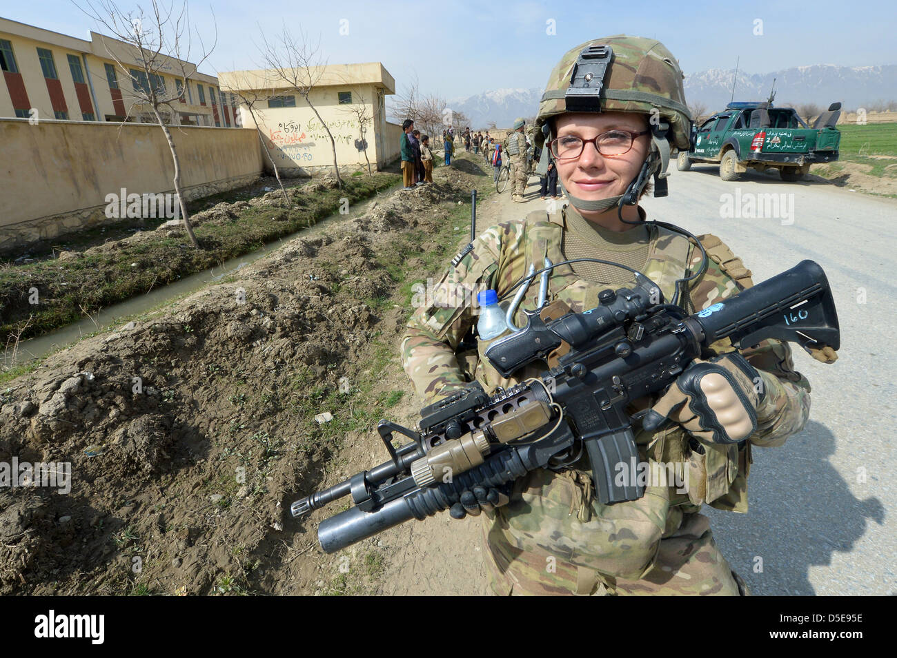us air force security forces member airman first class sean us air force staff sgt elizabeth rosato member of the 755th expeditionary security forces