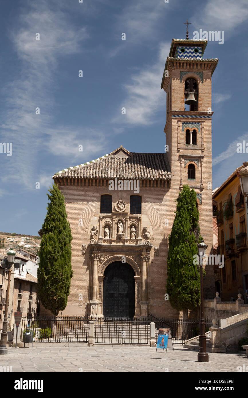 Church iglesia de santa ana granada andalucia spain - Santa ana granada ...