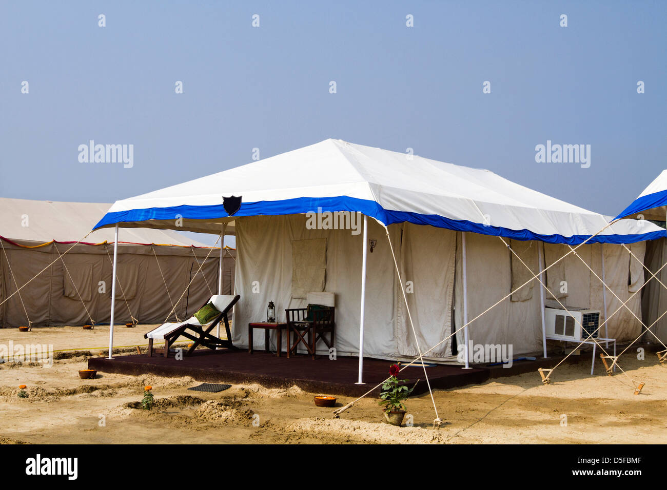 Temporary tents in Kumbh Mela Allahabad Uttar Pradesh India & Temporary tents in Kumbh Mela Allahabad Uttar Pradesh India ...