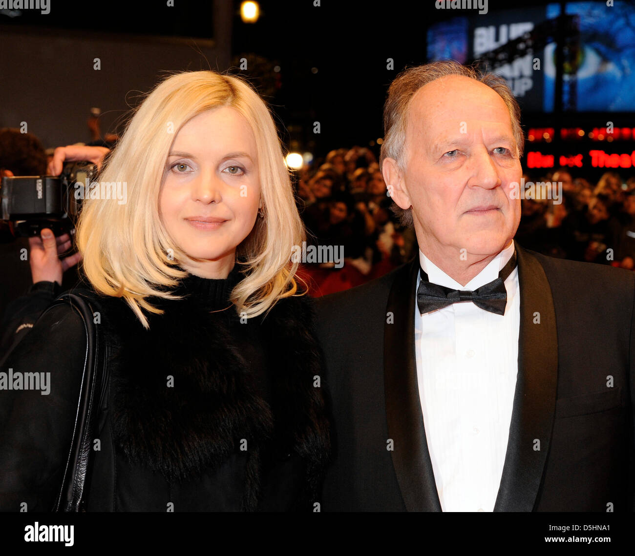 Jury president Werner Herzog and his wife Lena arrive for ...