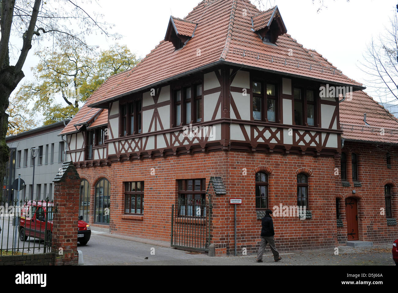 A View Of The Restored Horse Stable House In Rathenow, Germany, 8 November  2012
