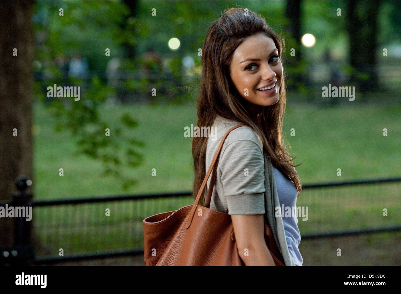 mila kunis friends with benefits 2011 stock photo royalty free image 55128904 alamy. Black Bedroom Furniture Sets. Home Design Ideas