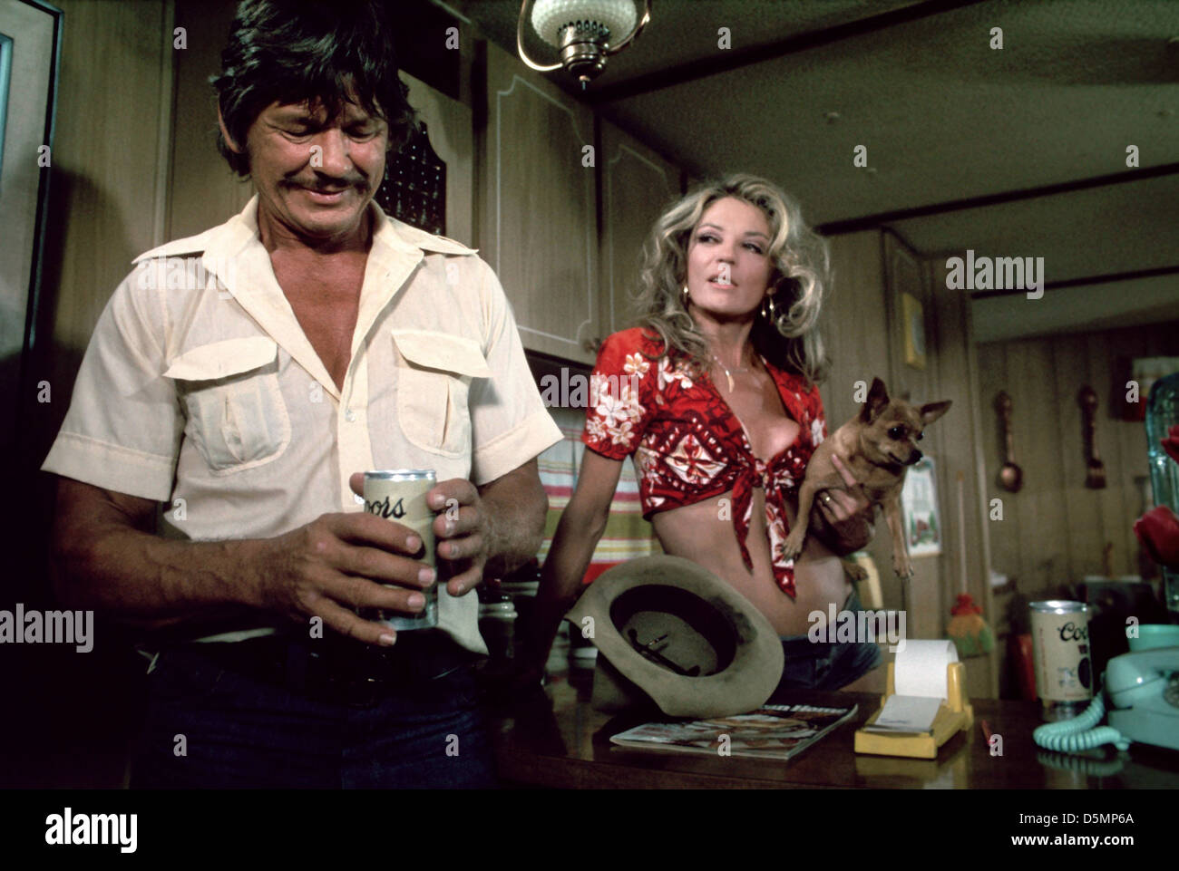 charles bronson amp sheree north breakout 1975 stock photo