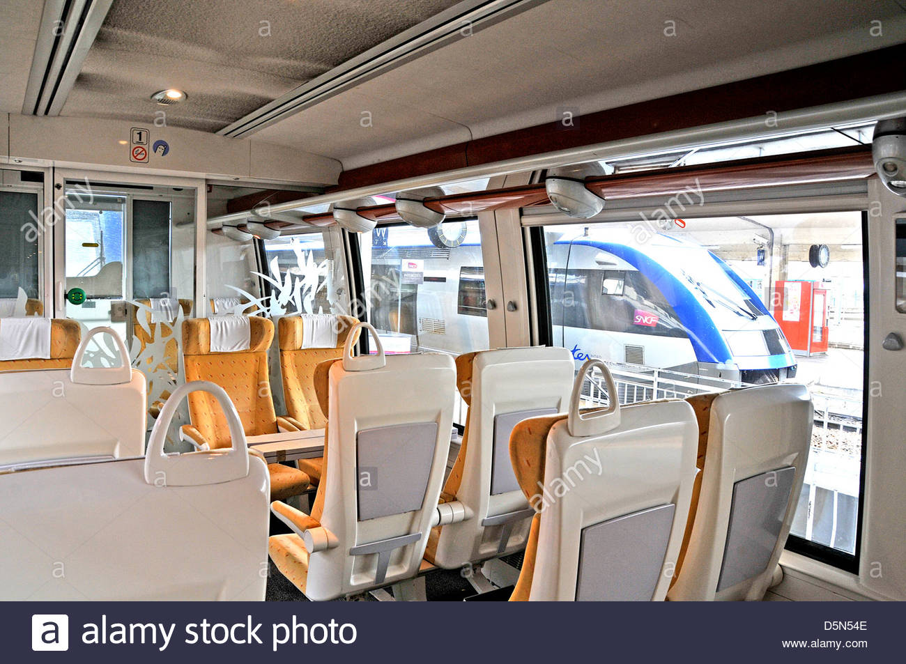 interior of ter train clermont ferrand france stock photo royalty free image 55169422 alamy. Black Bedroom Furniture Sets. Home Design Ideas