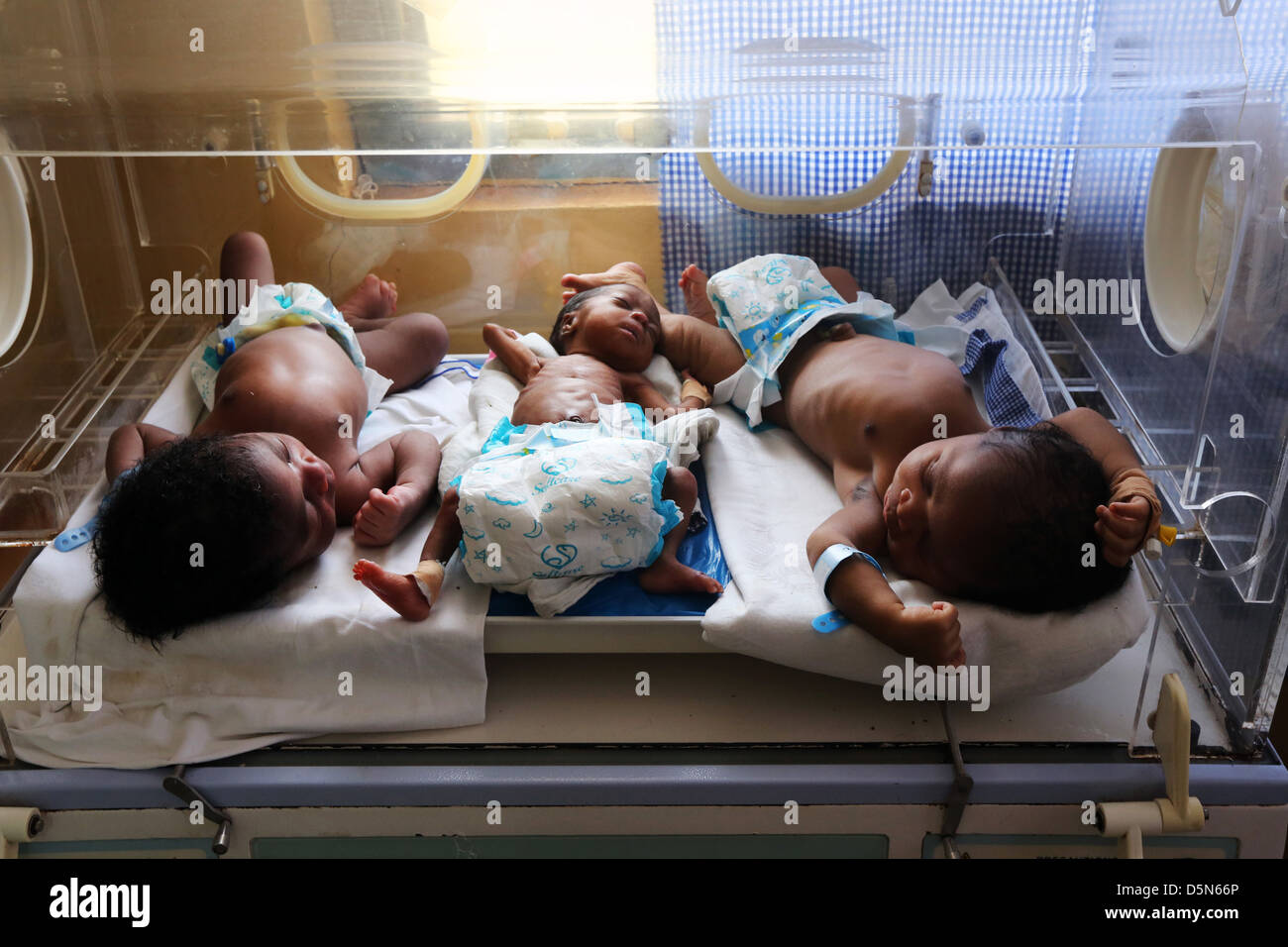 Baby cribs in ghana -  Newborn Premature Babies In The Maternity Area Of The Holy Family Hospital In Techiman Ghana