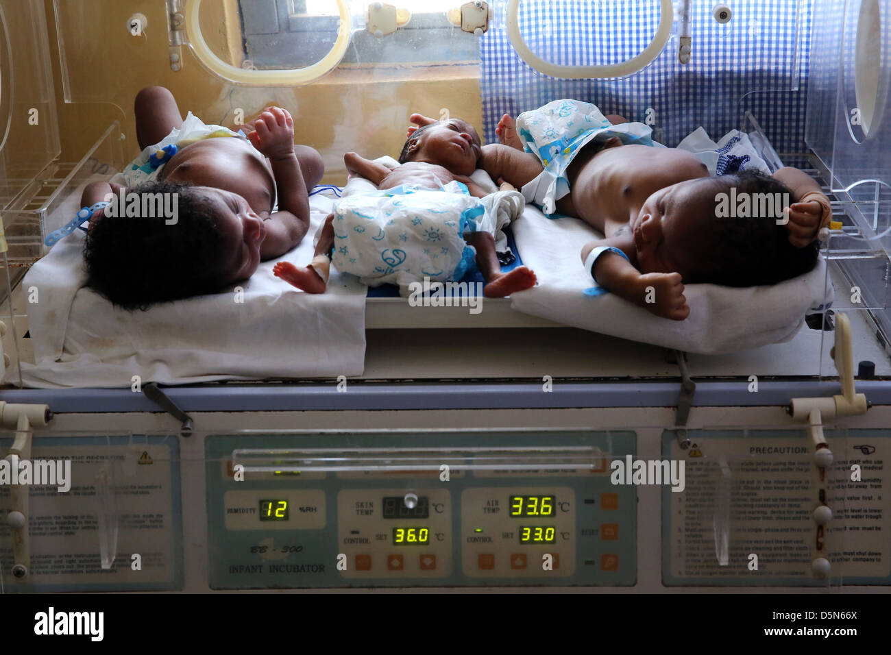 Baby cribs in ghana - Premature Baby Newborn Premature Babies In The Maternity Area Of The Holy Family Hospital In Techiman Ghana