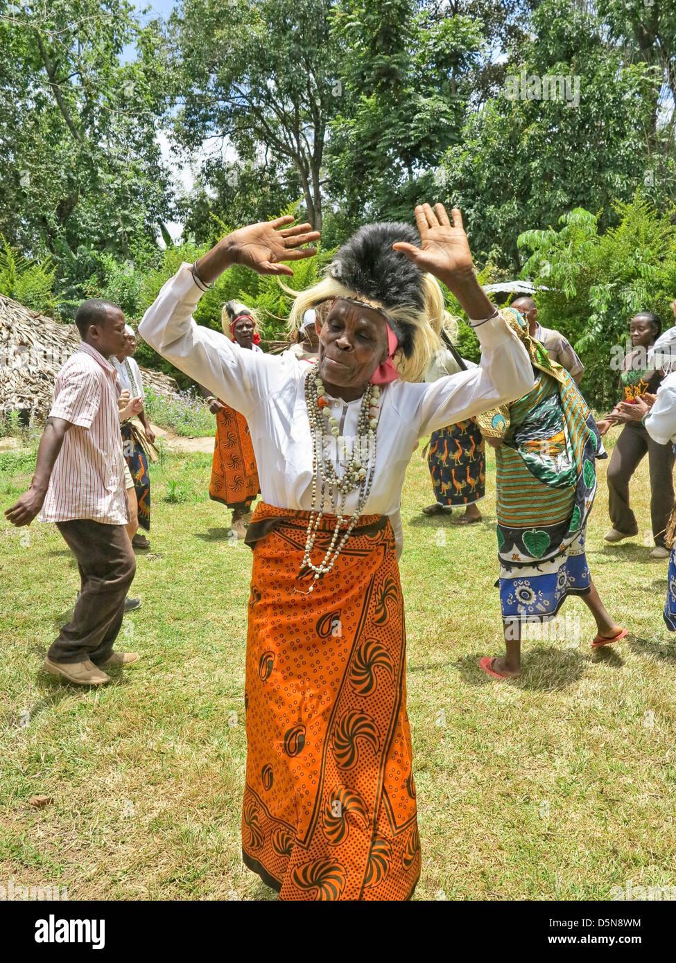 East african girl dancing 2