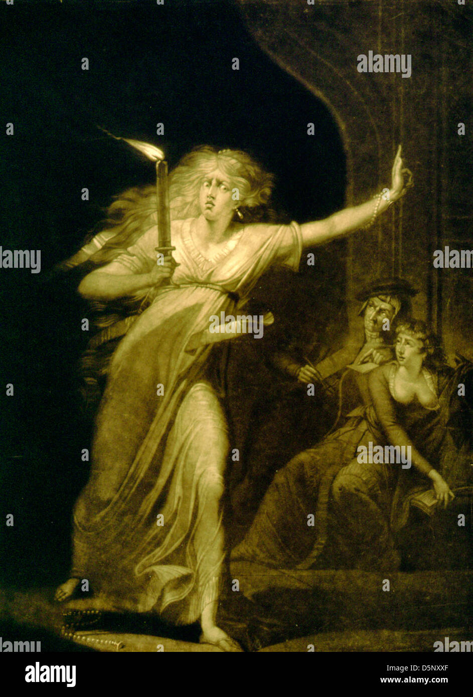 macbeth william shakespeare shakespeare stock photos macbeth lady macbeth walking in her sleep full length view carrying candle a