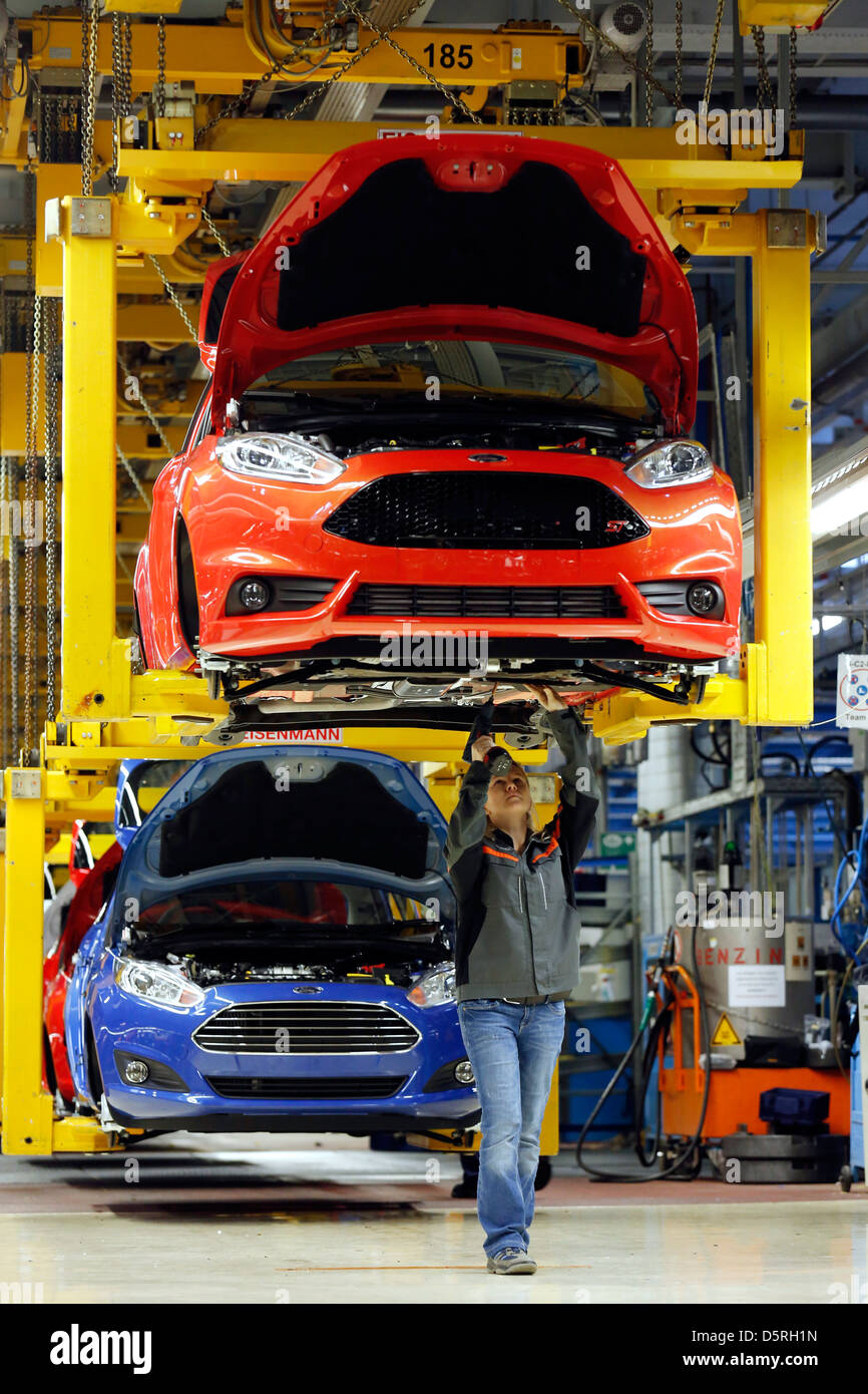 Ford assembly plants in germany