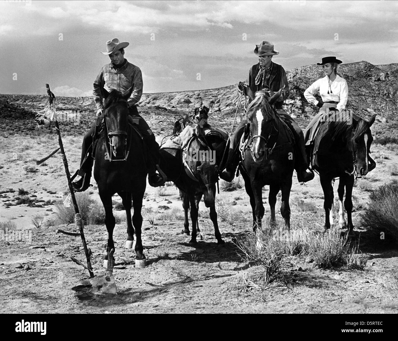 Audie Murphy Dan Duryea Amp Joan O Brien Six Black Horses