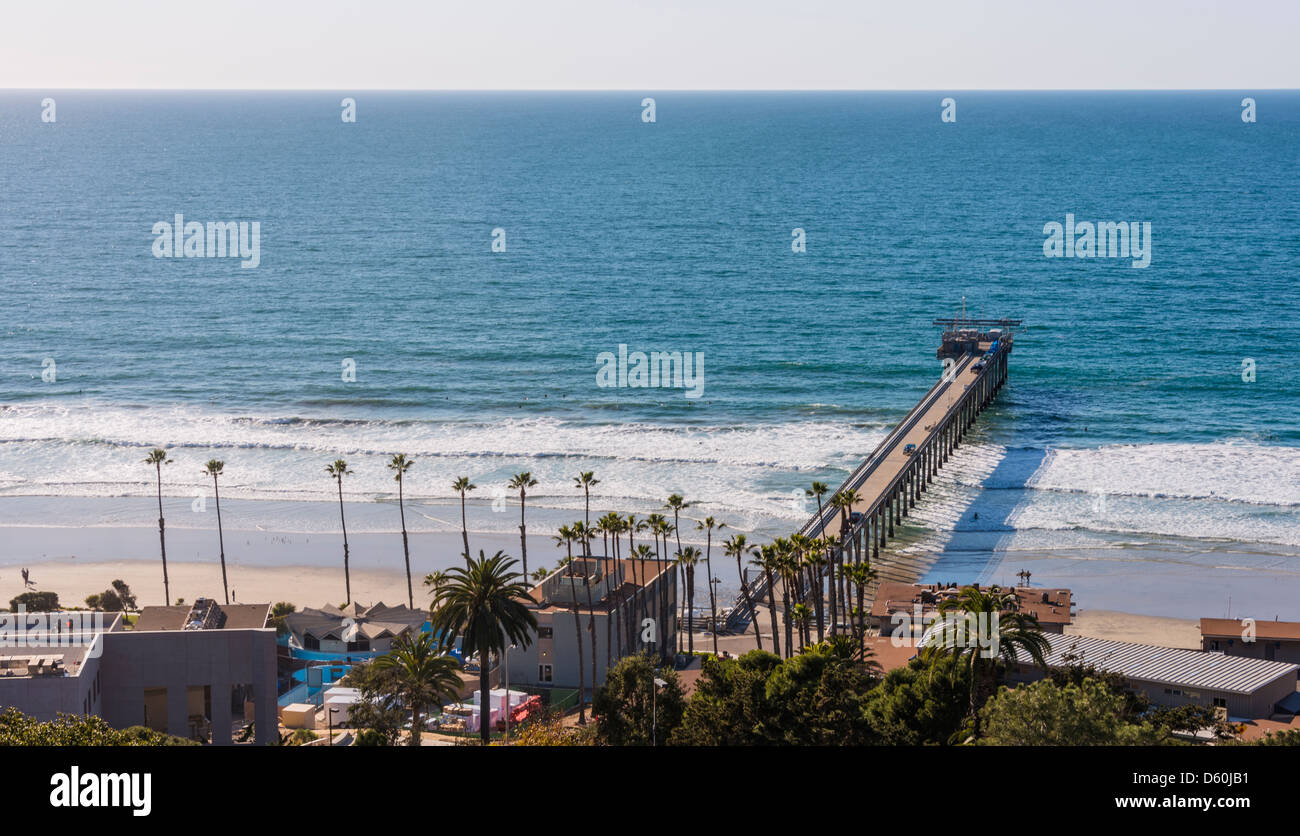 scripps institution of oceanography pier stock photo royalty free image 55333461 alamy. Black Bedroom Furniture Sets. Home Design Ideas