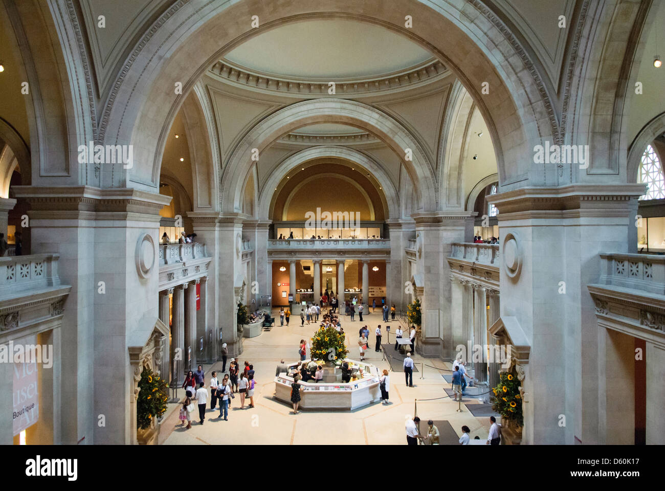 Foyer Museum York : The great hall metropolitan museum of art new york city