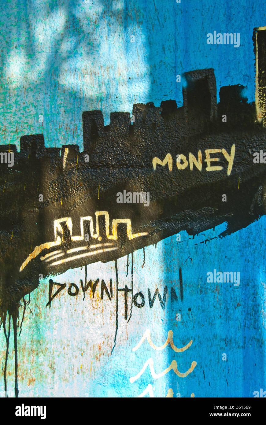 Graffiti wall usa - Graffiti Wall Art In Wynwood Arts District Of Miami Florida Usa