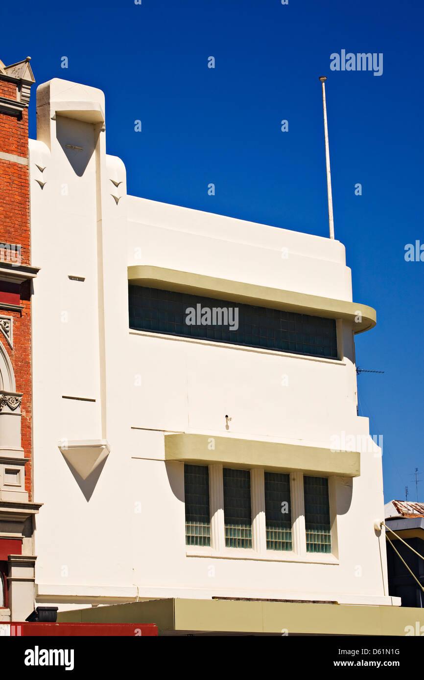 bailarat australia / the art deco style ppl building circa 1925 to
