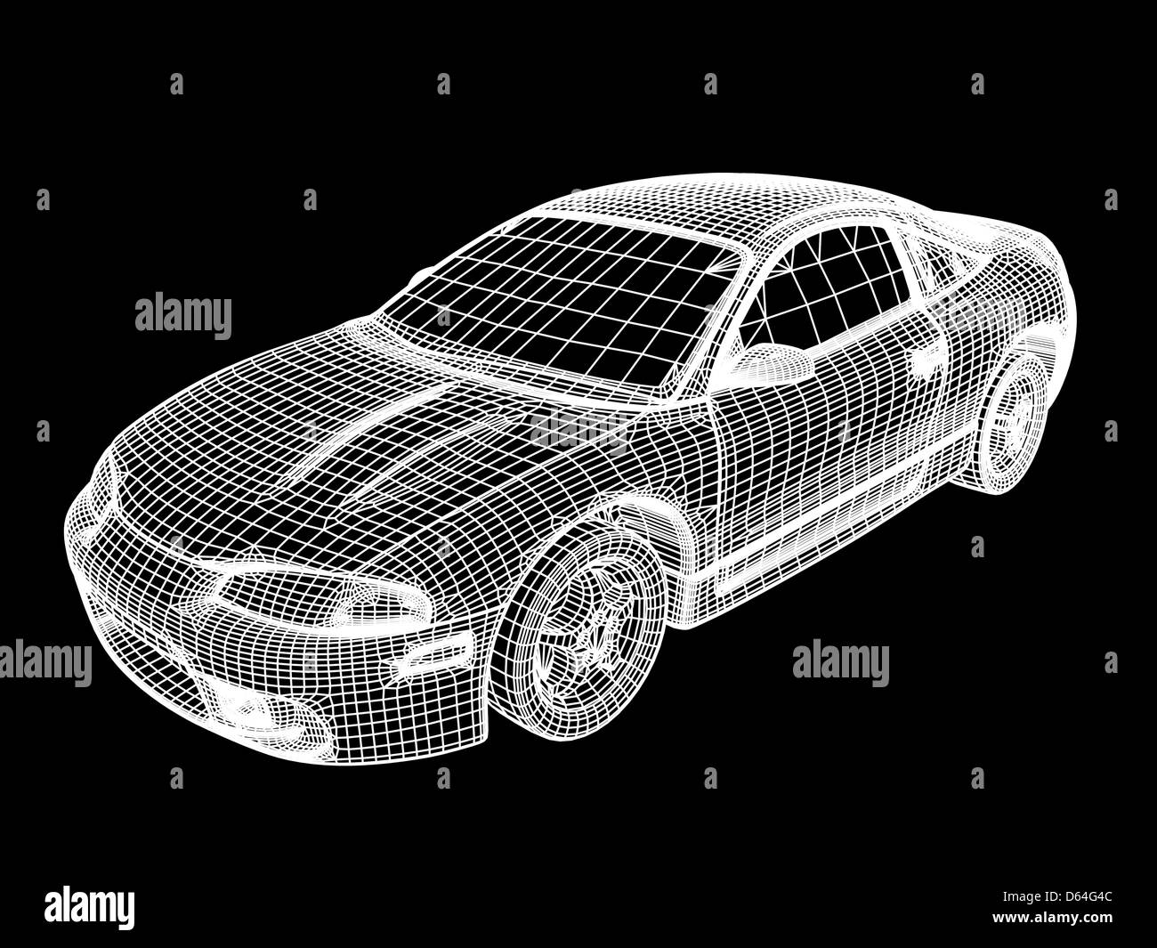 computeraided design of a car stock photo royalty free