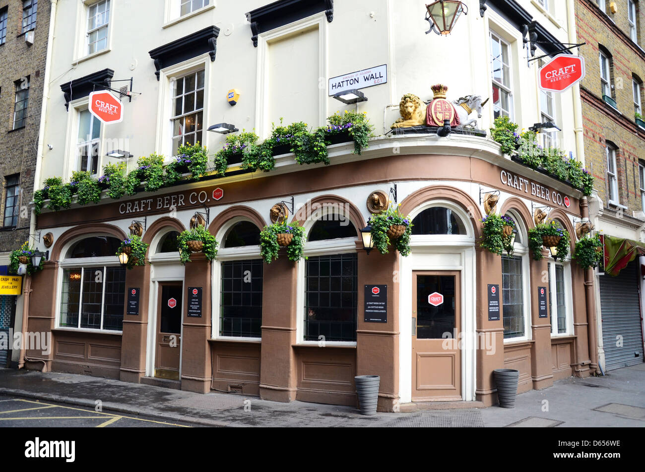 Craft beer co pub hatton wall near chancery lane london for Craft beer pubs near me
