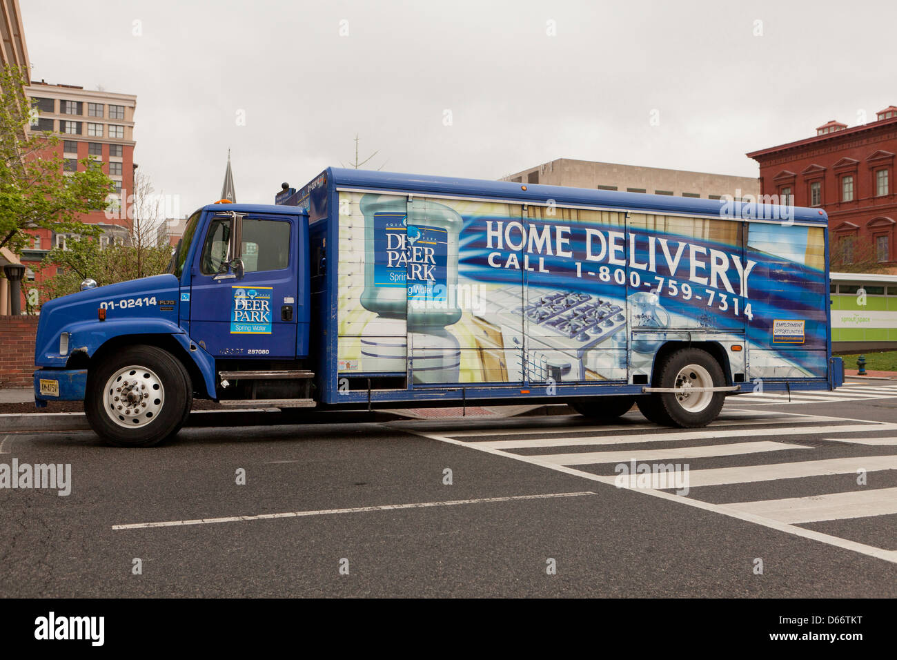 Deer Park Bottled Water Home Delivery Truck