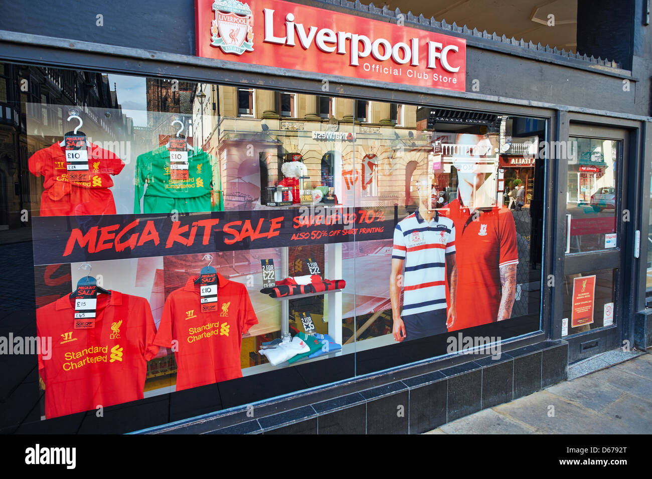 Liverpool Football Club Official Shop Eastgate Street