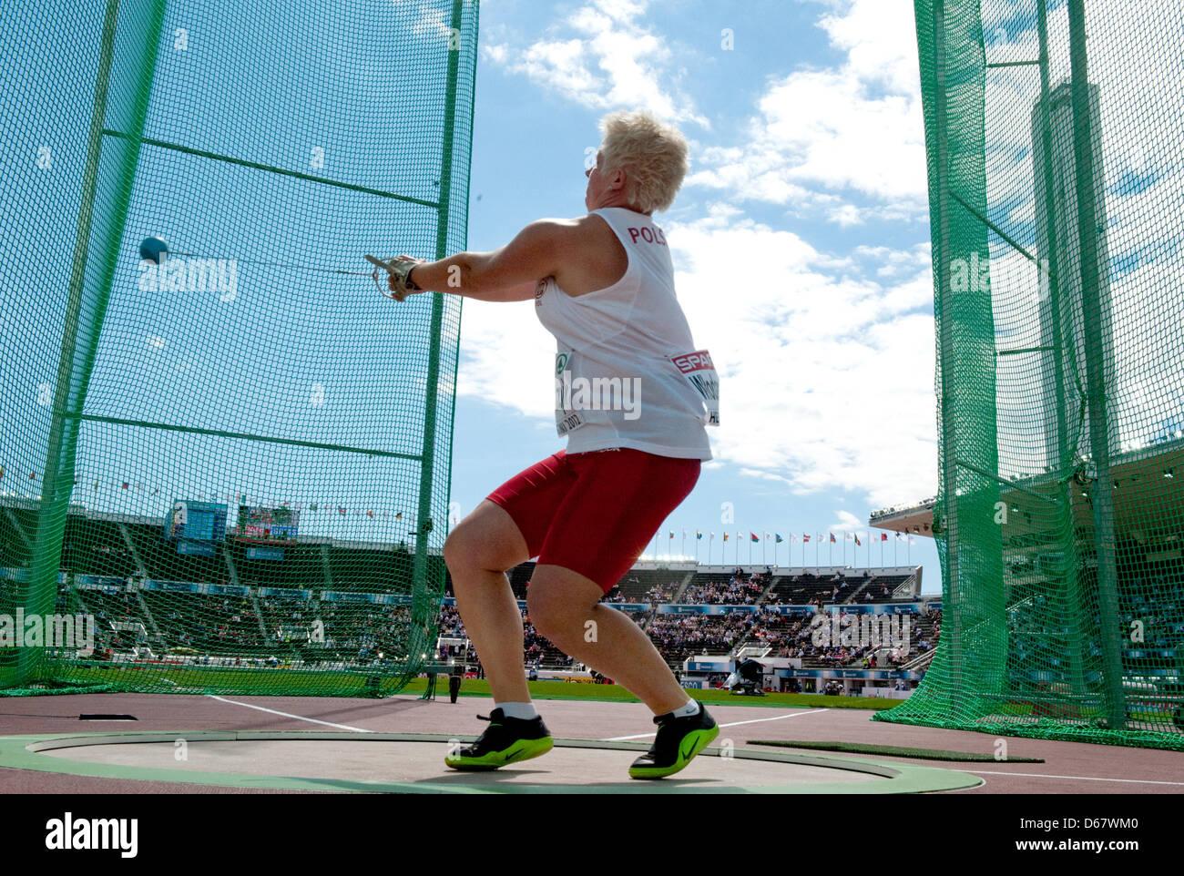 Aksana Miankowa Photos Pictures of Aksana Miankowa Getty 2008 olympic hammer throw photo gallery