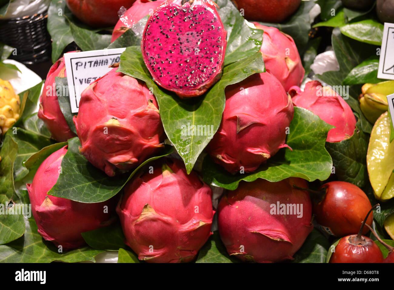 jacks fruit market pitaya fruit