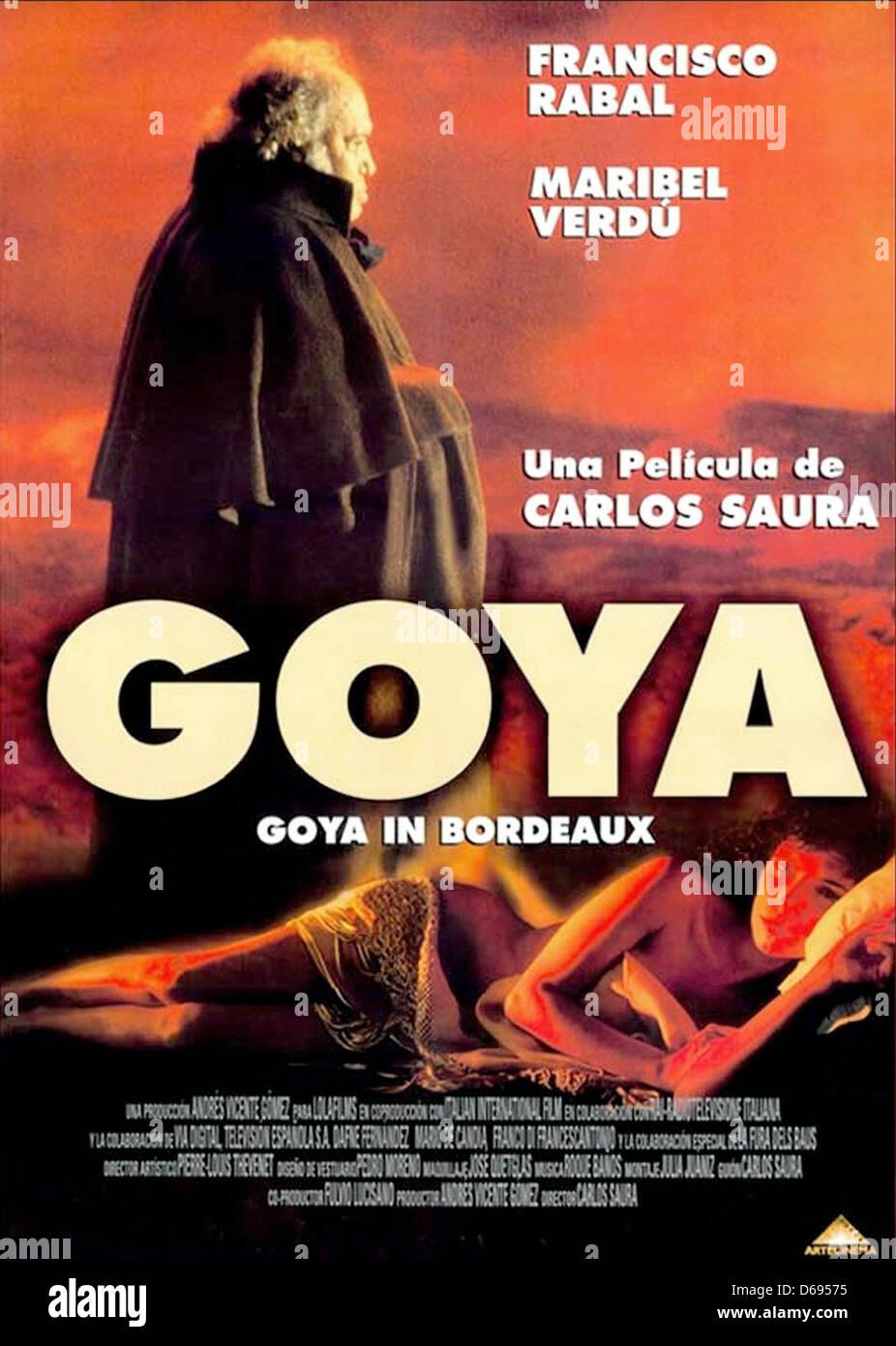 """Résultat de recherche d'images pour """"goya film 1999"""""""