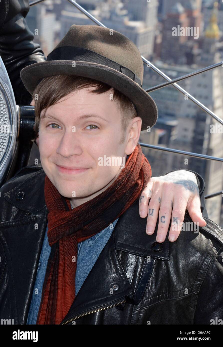 Fall Out Boy 2013 Patrick