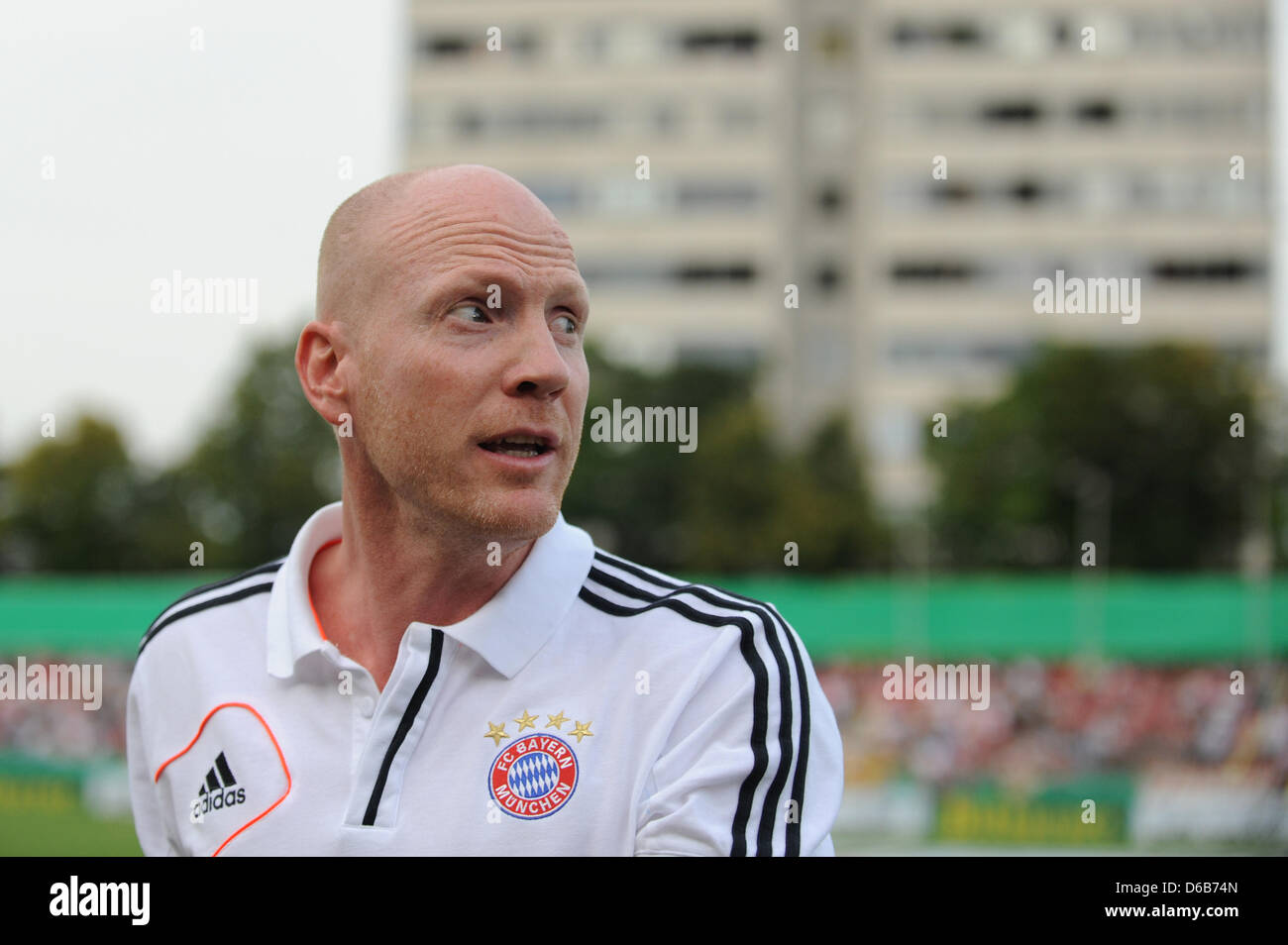 Munich s sports director Matthias Sammer is seen before the DFB