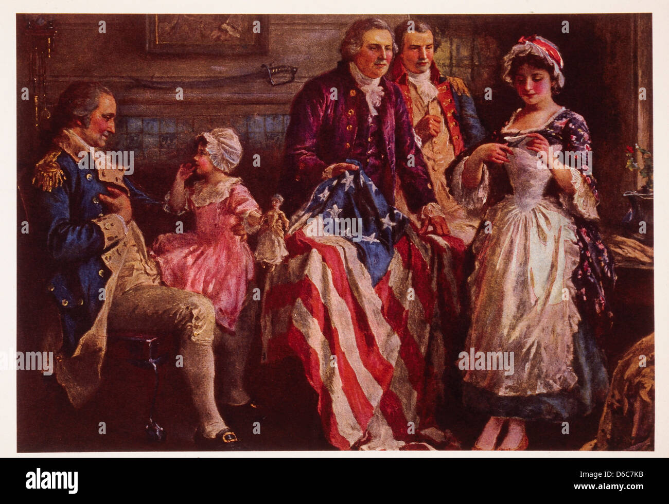 the role of betsy ross to the american flag The story of the betsy ross flag is one americans have told for more than 100 years it goes like this: betsy ross is working in her upholstery shop when a small group of men rushes in, a committee officially tasked by the continental congress with designing and creating the first american flag .