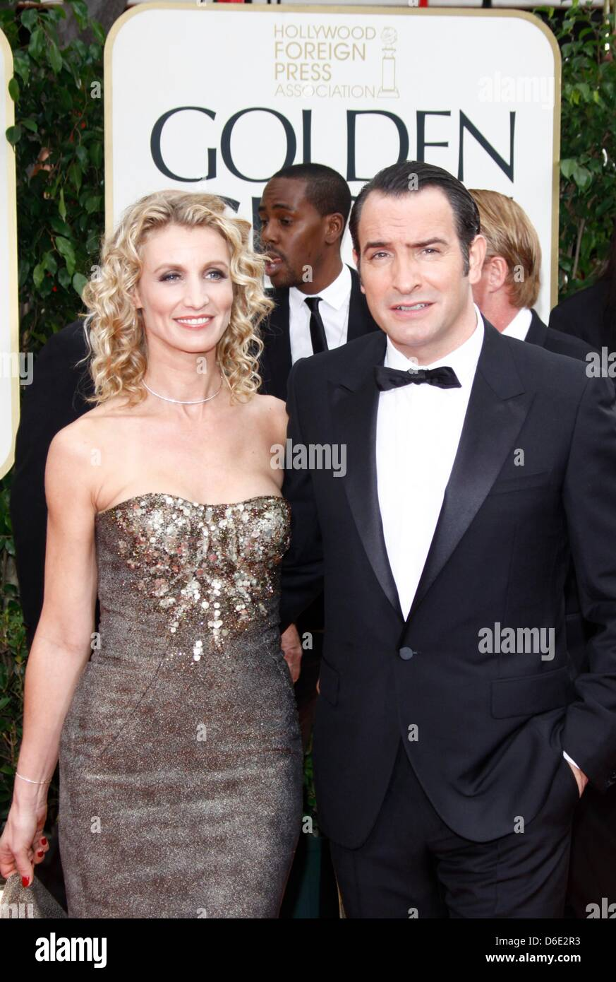 French actor jean dujardin and his wife alexandra lamy for Alexandra dujardin