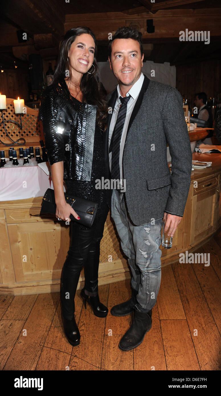 Austrian Real Estate Entrepreneur Rene Benko (r) And Hife Wife ...