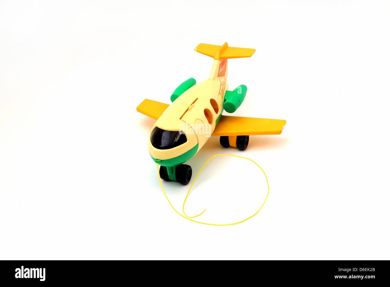 Fisher price pull along aeroplane toy stock photo royalty free fisher price pull along aeroplane toy buycottarizona