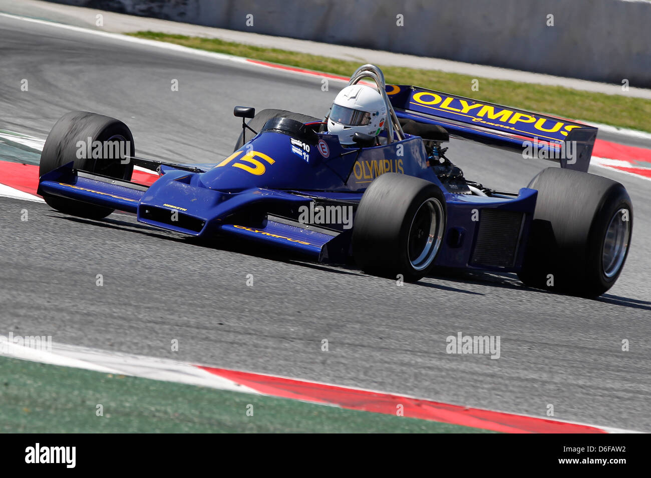 FIA Masters Historic Formula One race at Montmelo 12th April 2013 ...
