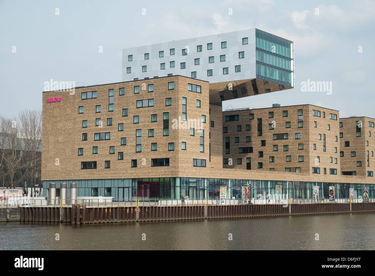 Modern Architecture Germany modern architecture along river spree in berlin, germany stock