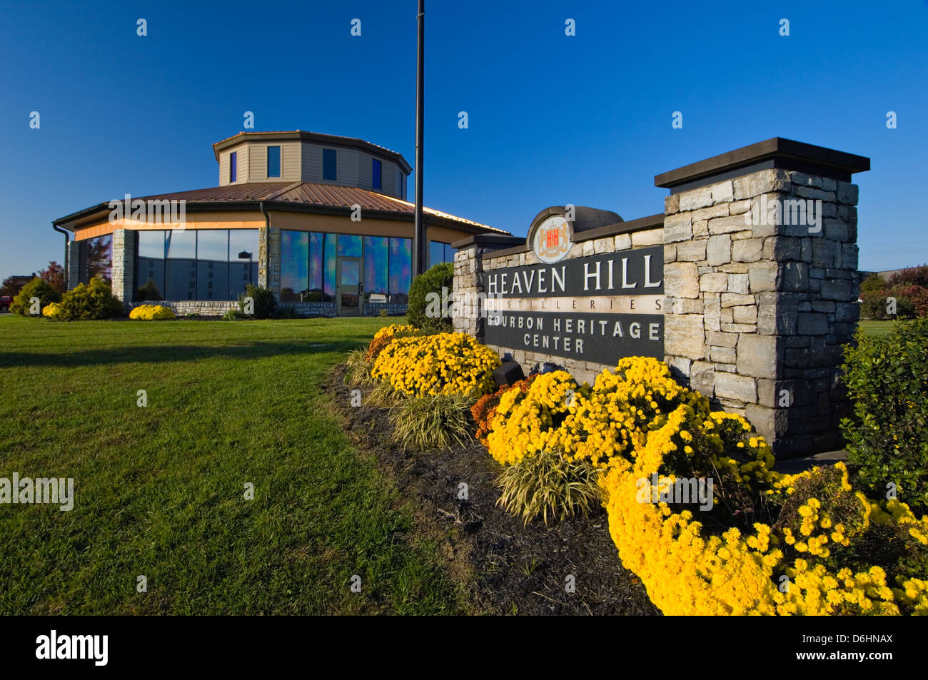 Heaven Hill Distilleries Bourbon Heritage Center In Bardstown Stock Photo 55708994 Alamy