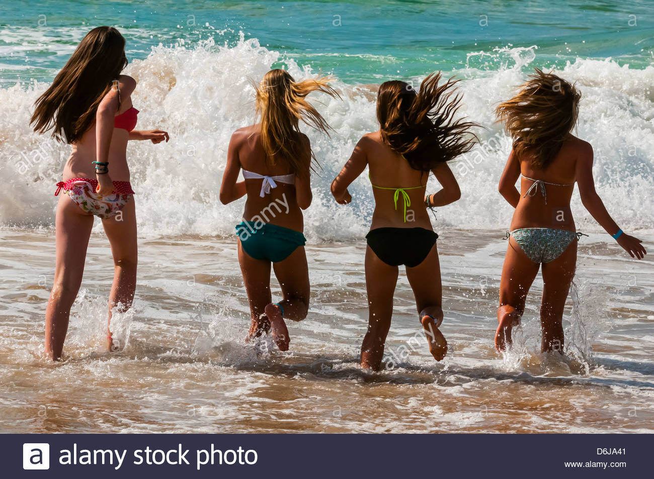 Austroliya Beach Girl Photo