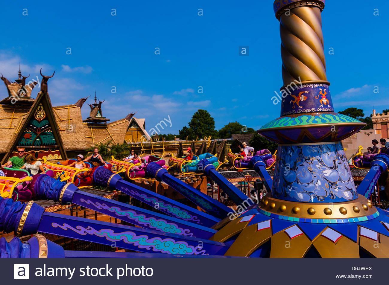 Walt Disney World The Magic Carpets Of Aladdin Carpet