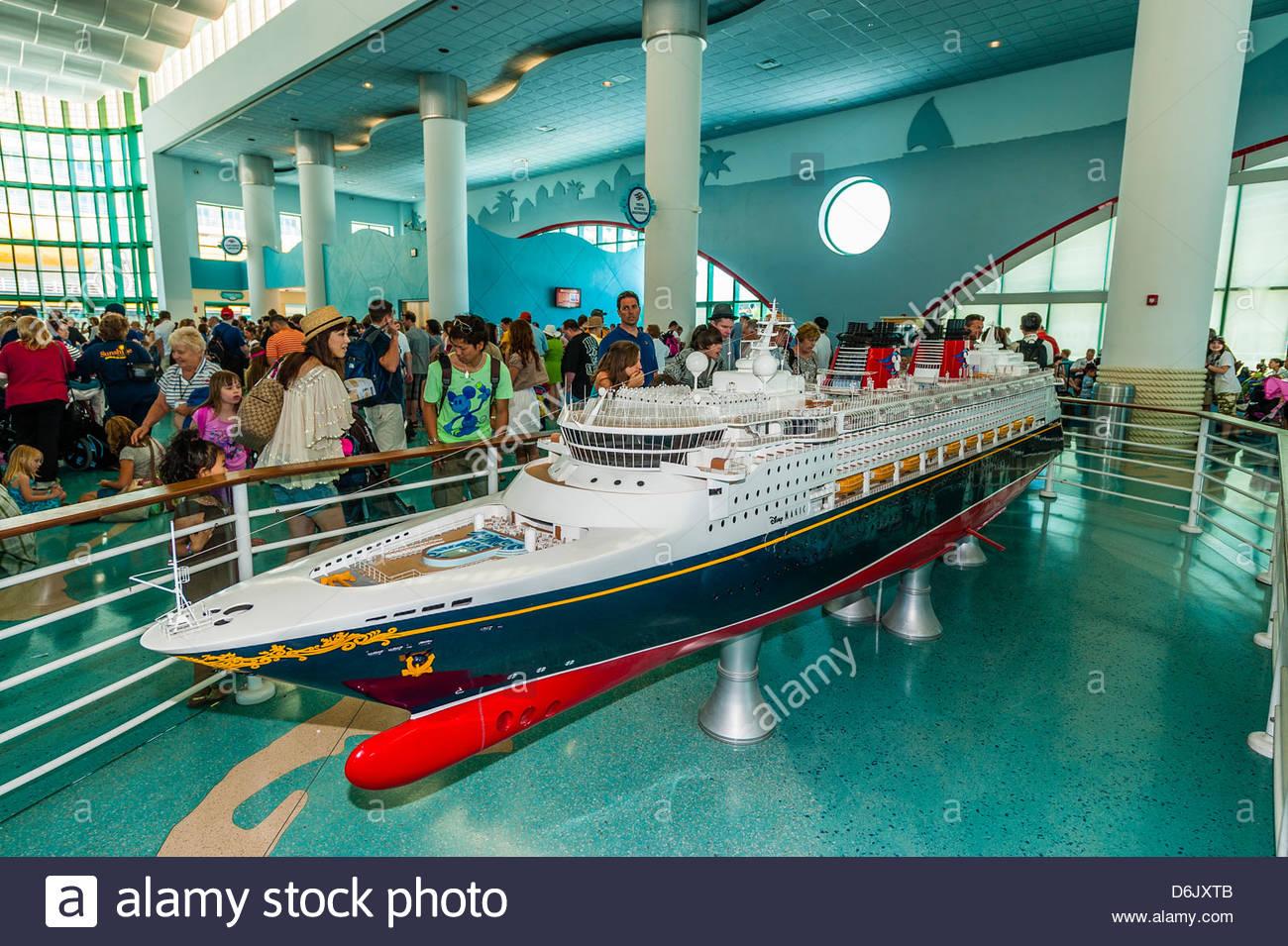 Model Of The New Disney Dream Cruise Ship Disney Cruise Line - Is disney building a new cruise ship