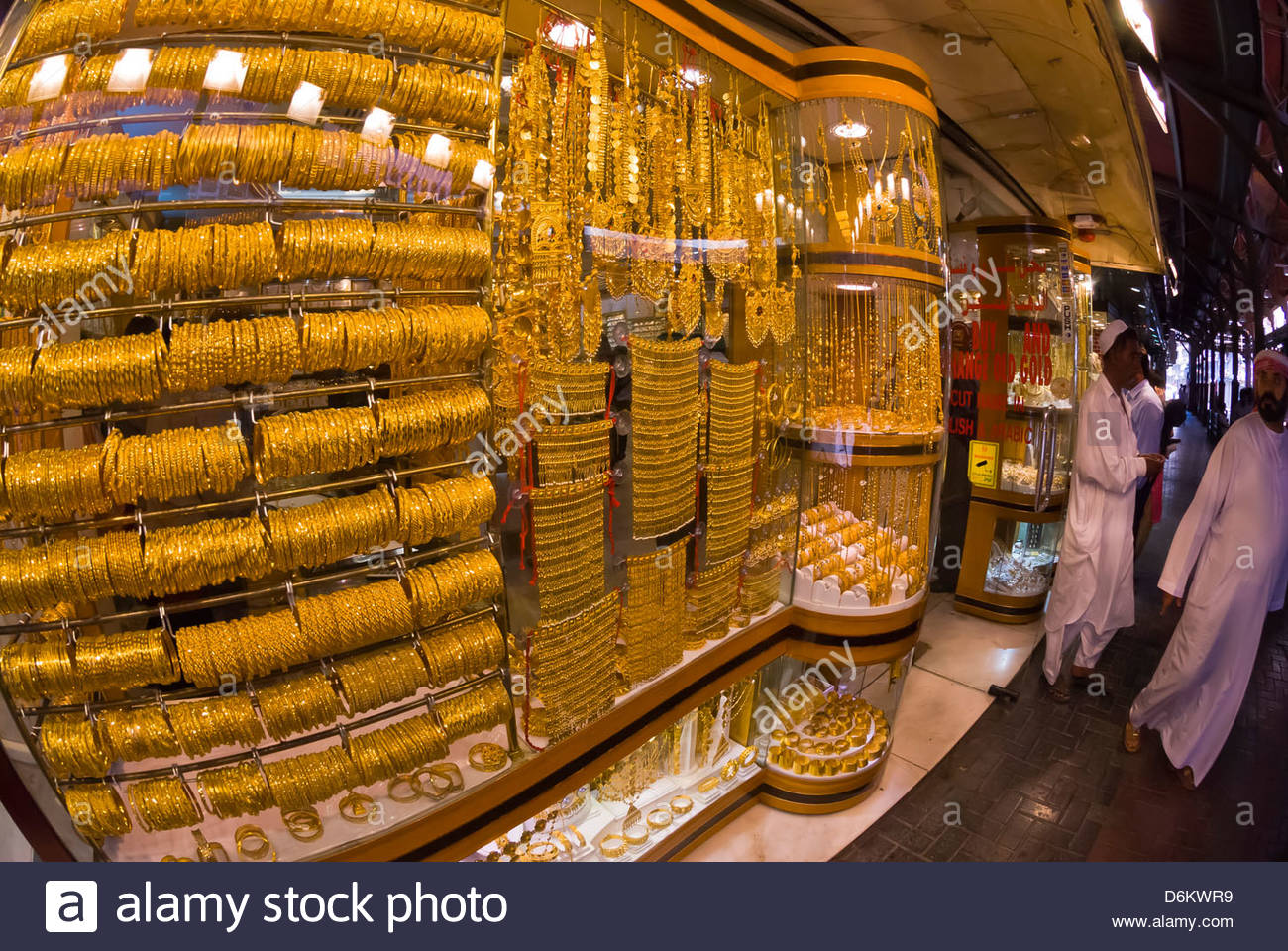 jewelry store gold souk dubai united arab emirates