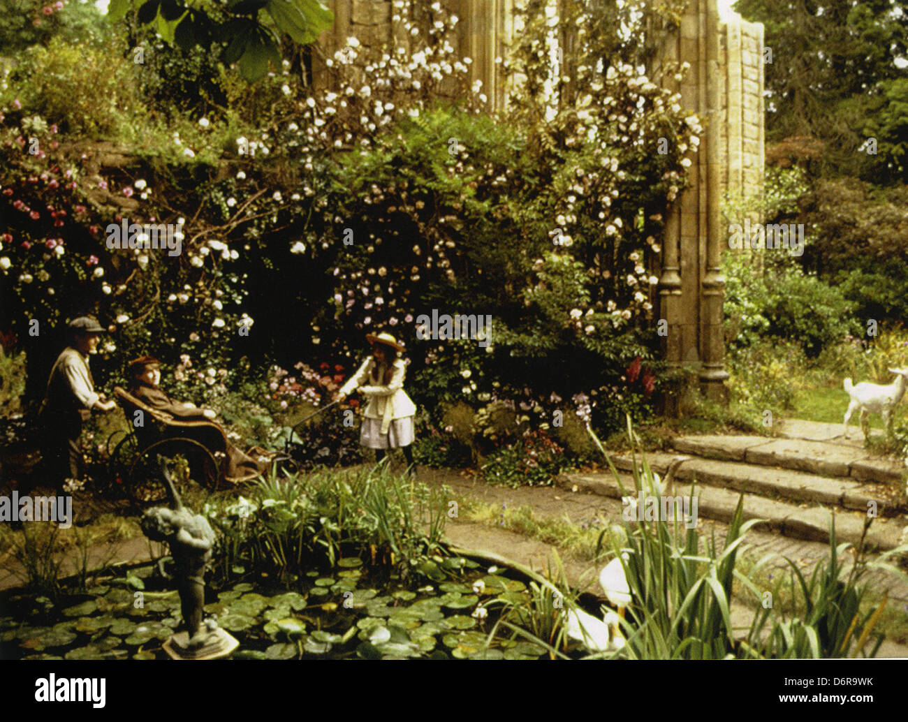 The secret garden 1993 warner bros film with kate maberly stock photo royalty free image for Where was the secret garden filmed