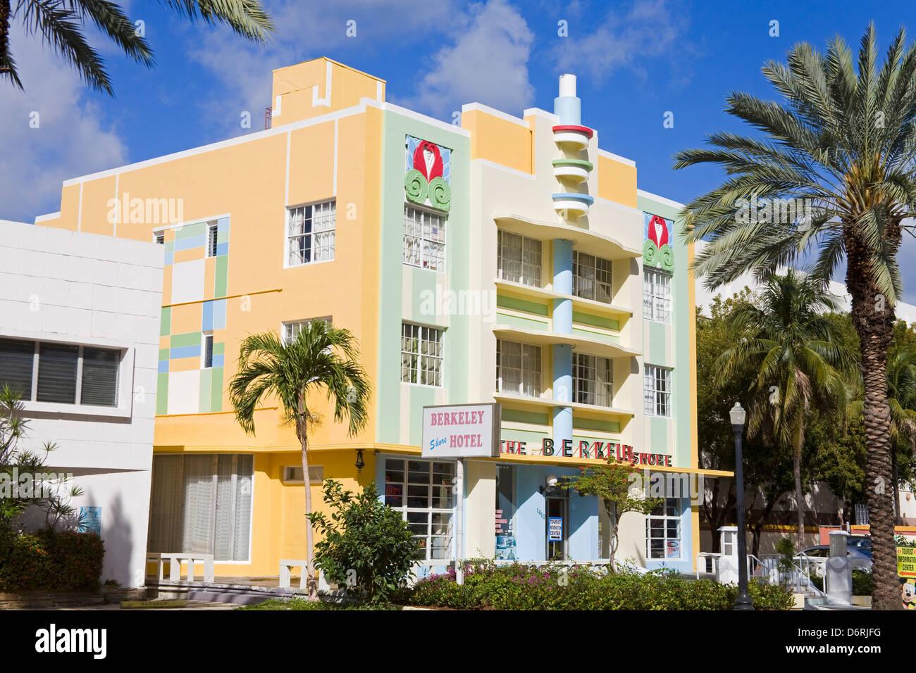 The Berkeley Shore Hotel On Collins Avenue South Beach Miami Beach Florida Usa