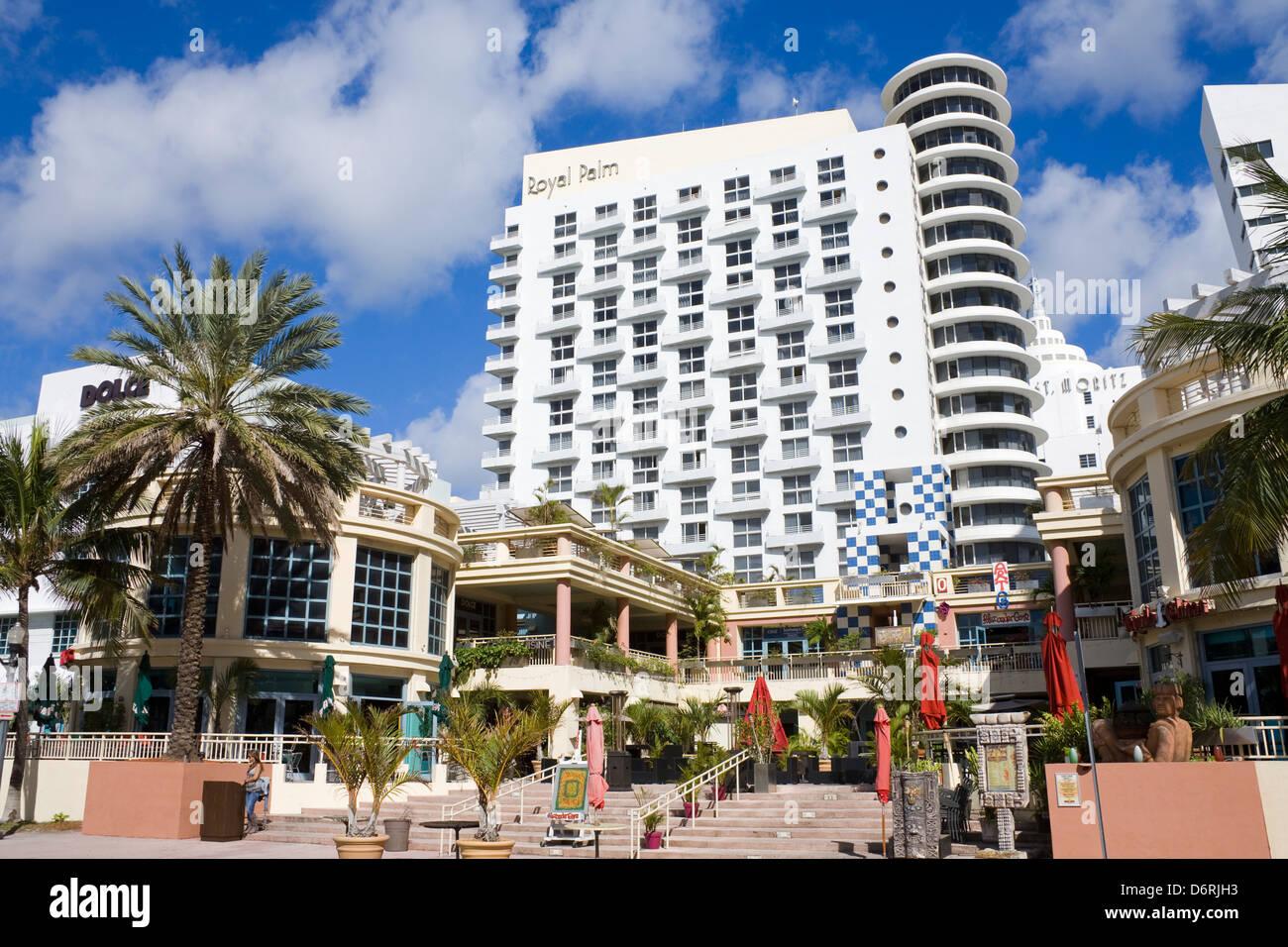 Royal palm hotel on south beach miami beach florida usa