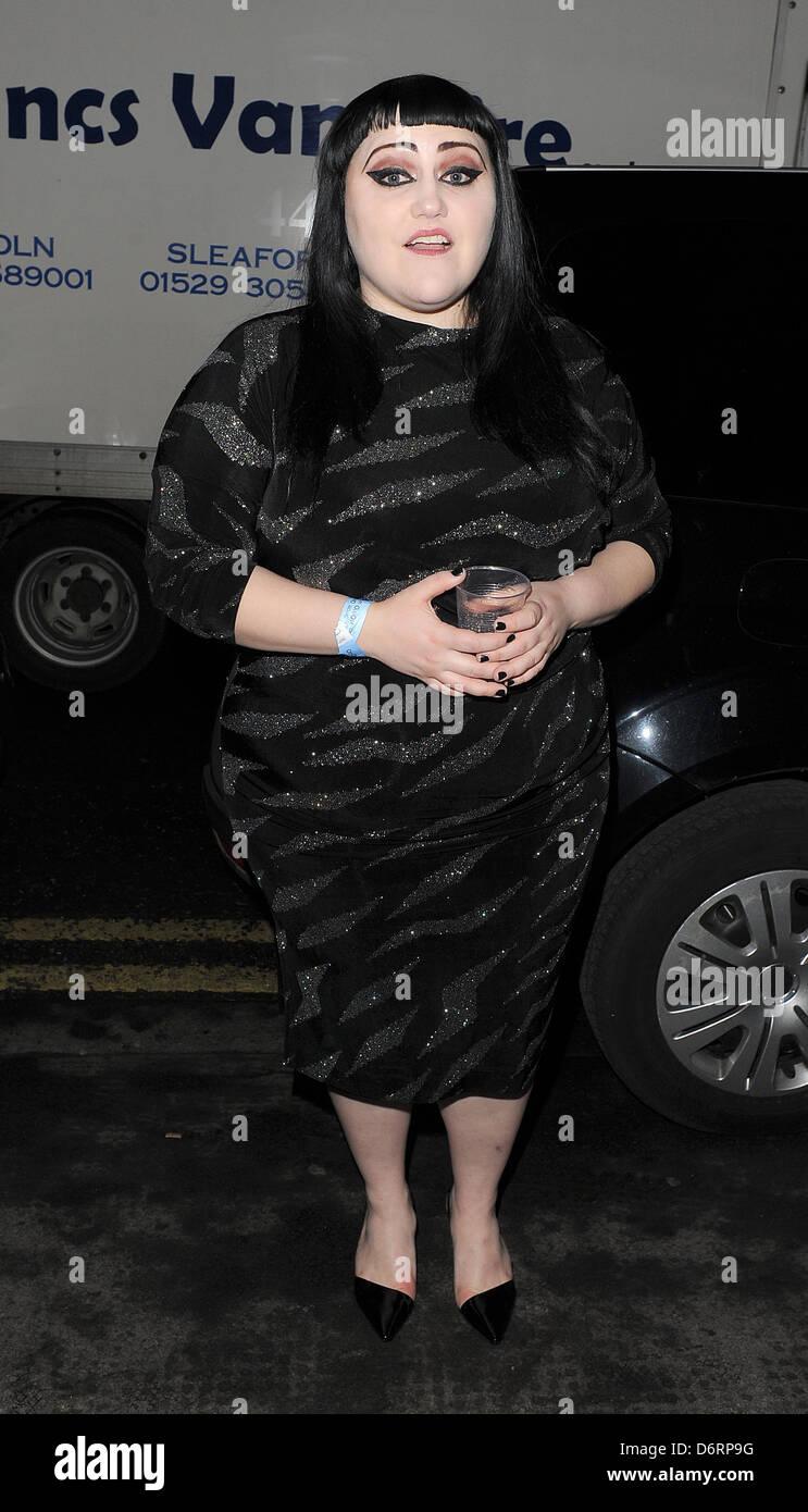 Beth Ditto London Fashion Week A/W 2011: Julian J Smith ...